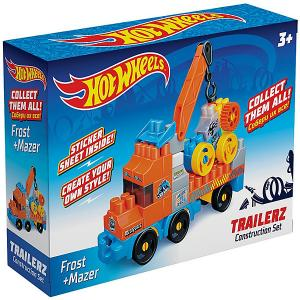 Конструктор  Hot Wheels Trailerz Frost + Mazer Машинка Bauer