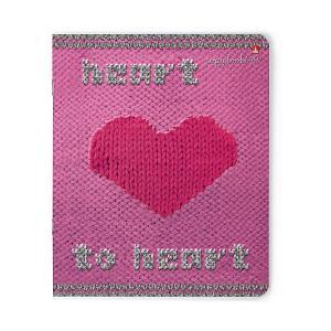 Тетрадь  Модный свитер. Сердце 48 листов, 5 шт., клетка Альт. Цвет: разноцветный