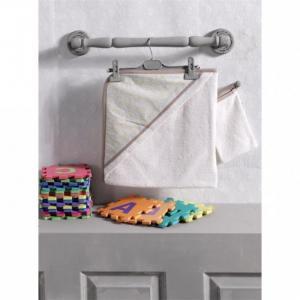 Комплект полотенце-уголок + варежка Butterfly Kidboo