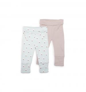 Комплект брюки 2 шт , цвет: голубой/серый Happy Baby