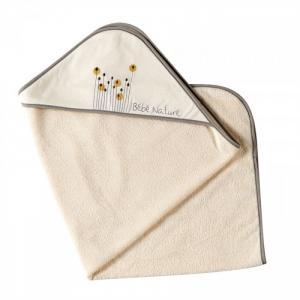 Полотенце с капюшоном Бежевые тона 75х75 см Candide