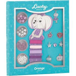 Набор для создания украшений  Lucky Doggy Мальтезе Orange. Цвет: бирюзовый