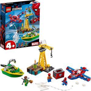 Конструктор  Super Heroes 76134: Человек-паук: похищение бриллиантов Доктором Осьминогом LEGO
