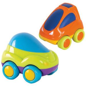 Машинки  2 штки в упаковке: зеленая+оранжевая HAP-P-KID