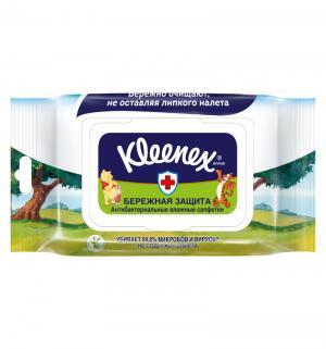Влажные салфетки  антибактериальные Disney, 40 шт Kleenex