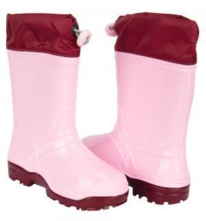 Резиновые сапоги , цвет: розовый Дюна
