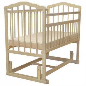 Детская кроватка Малика Melisa-4 (поперечный маятник) Массив