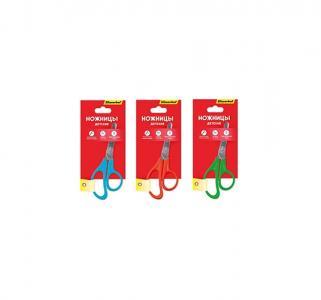 Ножницы детские длина: 125 мм материал ручек: пластик  Народная коллекция Silwerhof