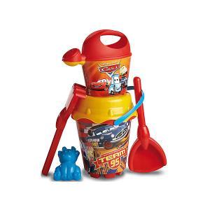 Набор игрушек для песочницы  Тачки Unice. Цвет: красный