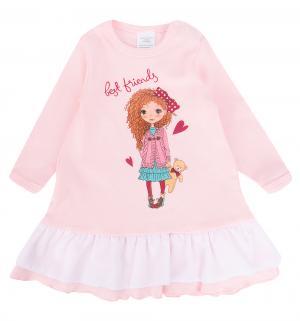 Платье  Романтическое настроение, цвет: розовый Newborn