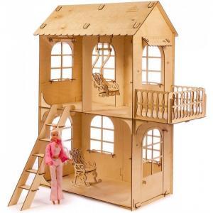 Кукольный дом средний конструктор Теремок