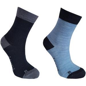 Носки , 2 пары Janus. Цвет: серый