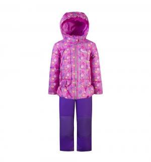 Комплект куртка/полукомбинезон , цвет: розовый Gusti
