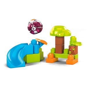 Конструктор  Горки Peek A Blocks Panda Sl Mega Bloks