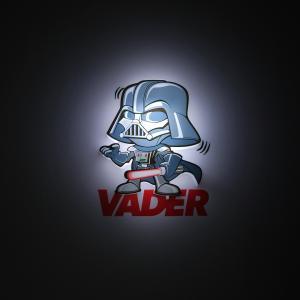 Пробивной мини 3D светильник Дарт Вейдер, Звёздные Войны Детское время