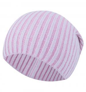 Шапка , цвет: розовый/серый Stella