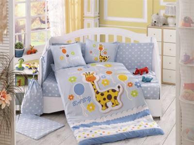 Комплект в кроватку  Puffy 100х150 см (10 предметов) Hobby Home Collection