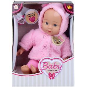 Кукла ABtoys Baby boutique, 33 см, в розовом костюмчике Dimian
