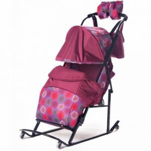 Санки-коляска  Comfort Plus 3B BK Kristy