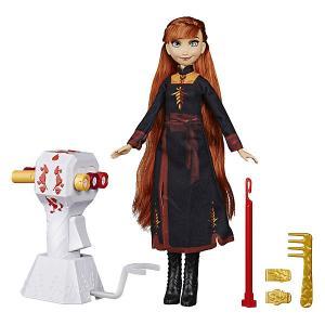 Игровой набор Disney Princess Холодное сердце 2 Магия причёсок, Анна Hasbro. Цвет: разноцветный