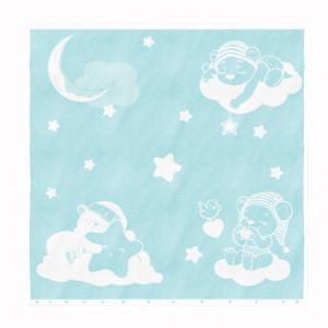 Полотенце Мишки на облаках 100х100 Облачко