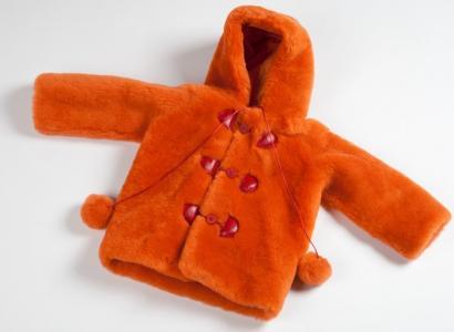 First Детская шубка из овчинки SHRF005 Ramili