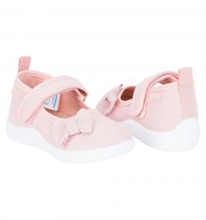 Туфли текстильные , цвет: розовый Nordman