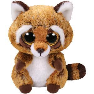 Мягкая игрушка TY Енот Расти, 15 см