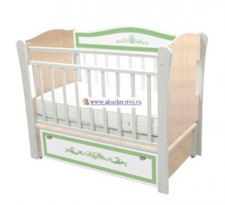 Детская кроватка  Меандр (продольный маятник) Влана