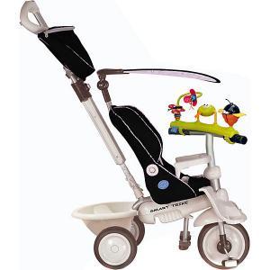 Велосипед SMART TRIKE Recliner черный с игрушками -. Цвет: черный