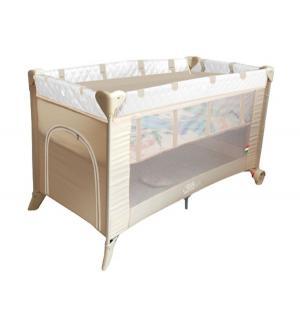 Манеж-кровать  5 в 1 Intelletto, цвет: crema Sweet Baby