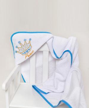 Полотенце уголок с вышивкой Принц Мой Ангелочек