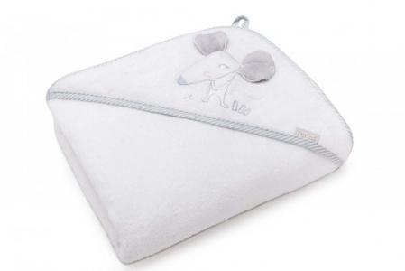 Полотенце Мышка с капюшоном 95х95 см (в упаковке) Perina