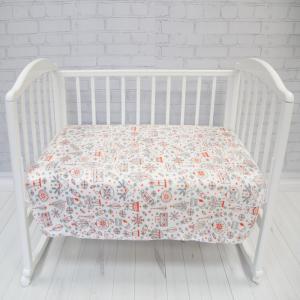 Плед  Micro Flannel Игрушки 150 х 200 Baby Nice (ОТК)