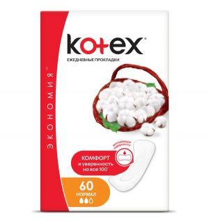 Прокладки  Normal, 60 шт Kotex