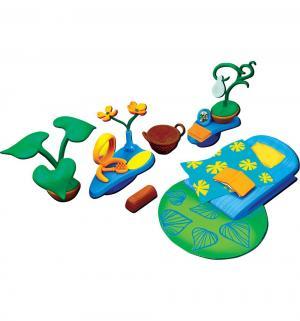 Игровой набор  Спальная комната с зеленым ковром Monchhichi