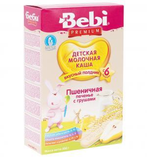 Каша  молочная пшеничная с печеньем и грушой 6 месяцев 200 г Bebi