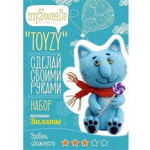 Набор для валяния Toyzy Синий кот. Цвет: разноцветный