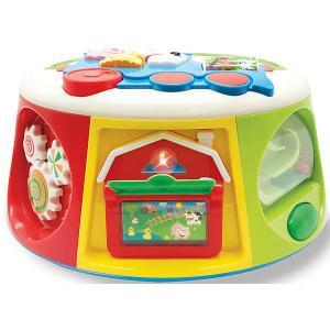 Развивающая игрушка Мультикуб Kiddieland. Цвет: разноцветный