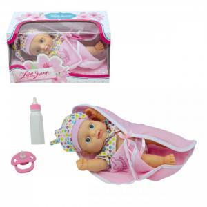 Кукла-Пупс одежда в цветочек со звуком 23 см Lisa Jane