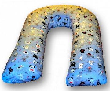 Подушка для беременных U Друзья (поплин) 340х35 БиоСон