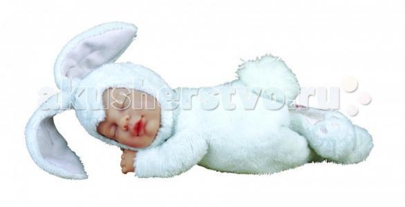 Мягкая игрушка Anne Geddes Детки-кролики 17 см Unimax