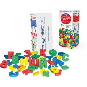 Набор для обучения MAGNETICUS Магнитные буквы и цифры