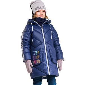 Пальто Boom by Orby. Цвет: темно-синий