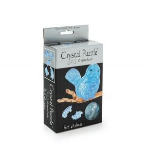 Головоломка 3D  Птичка голубая цвет: голубой Crystal Puzzle