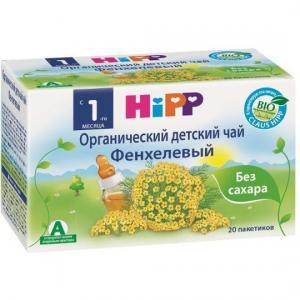 Чай  фенхелевый, 200 г, 1 шт Hipp