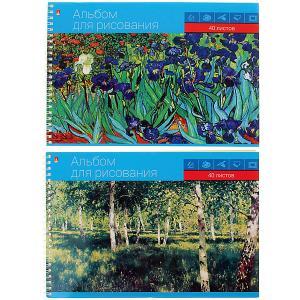 Альбом для рисования  Профессиональная на гребне, А5, 40 листов Альт. Цвет: разноцветный