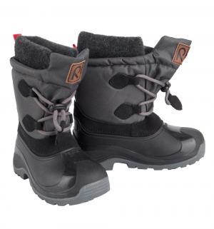 Ботинки , цвет: черный Reima