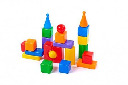 Развивающая игрушка  Строительный набор Стена-2 22 элемента СВСД