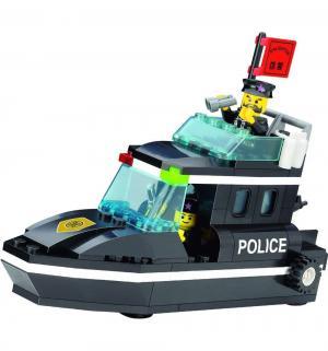 Конструктор  Полицейский катер (95 дет) Brick